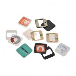 Webcam swivel cover in square shape
