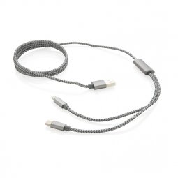 XD Collection 3-in-1 braided cable