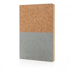 XD Collection A5 kurken notitieboek, gelinieerd