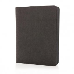 XD Collection A5 notebook with power bank, ruled