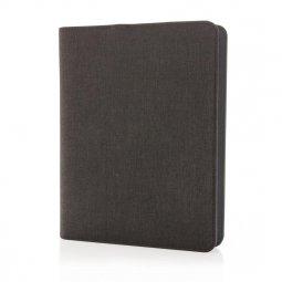 XD Collection A5 notitieboek met powerbank, gelinieerd