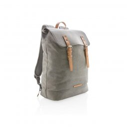 "XD Collection Canvas 15,6"" laptop backpack"