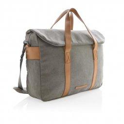"XD Collection Canvas 15,6"" laptop bag"