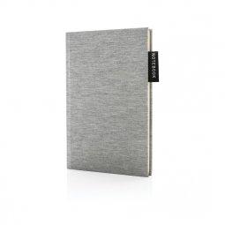 XD Collection Deluxe A5 jersey notitieboek, gelinieerd