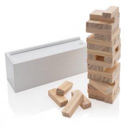 XD Collection Deluxe houtblok stapelspel