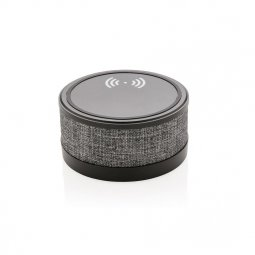 XD Collection Fabric wireless charger with speaker