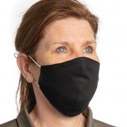 XD Collection herbruikbaar 2 laags katoenen mondmasker