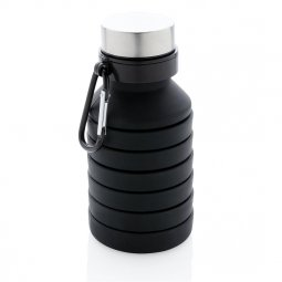 XD Collection leakproof collapsible silicone bottle with lid