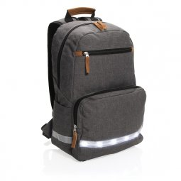 "XD Collection LED light 13"" laptop backpack"