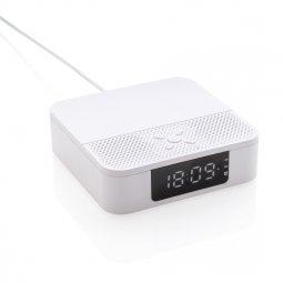 XD Collection luidspreker met draadloos oplaadstation en klok