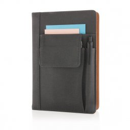 XD Collection notebook with phone pocket