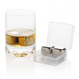 XD Collection re-usable stainless steel ice cubes