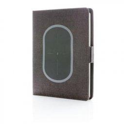 XD Design Air notitieboek met draadloos oplaadstation