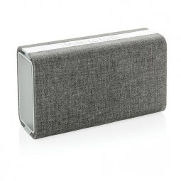 XD Design Vogue stoffen draadloze luidspreker & powerbank