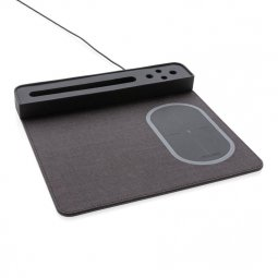 XD Xclusive Air mousepad with 5W wireless charging and USB