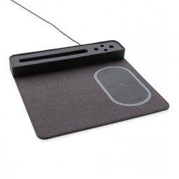 XD Xclusive Air muismat met 5W draadloze oplader & USB