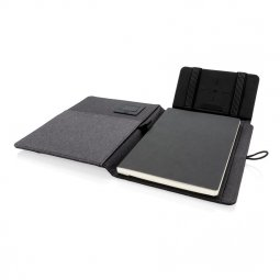 XD Xclusive Kyoto A5 writing case with wireless charger
