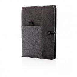 XD Xclusive Kyoto notitieboek met draadloze oplader