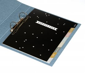 Binder with tabs