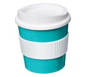 Aqua blue - White