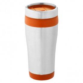 Silver - Orange