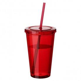 Transparant rood