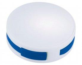 White - Royal blue