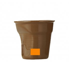 Brown cup