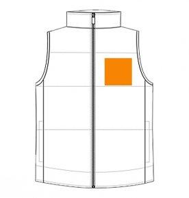 Left chest