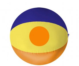 Yellow panel (circle)